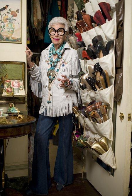 "Thames & Hudson ""Rare Bird of Fashion:The Irreverent Iris Apfel"" BY Eric Boman Book"