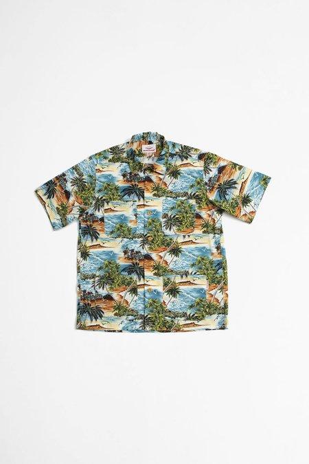 Battenwear Five Pocket Island Shirt - Island Print