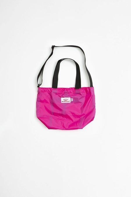 Battenwear Mini Packable Tote - Fuchsia/Black