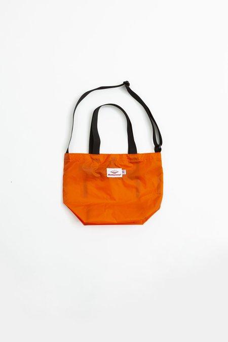 Battenwear Mini Packable Tote - Orange/Black