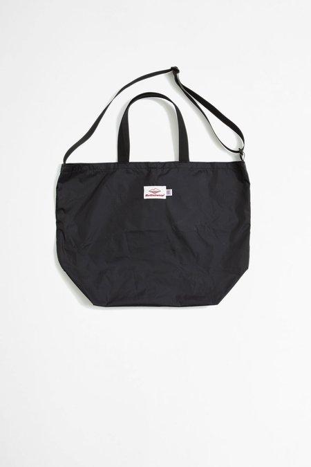 Battenwear Packable Tote - Black/Black