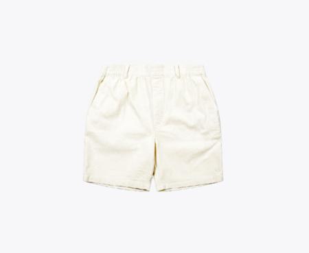 Wemoto Braden Corduroy Shorts - White