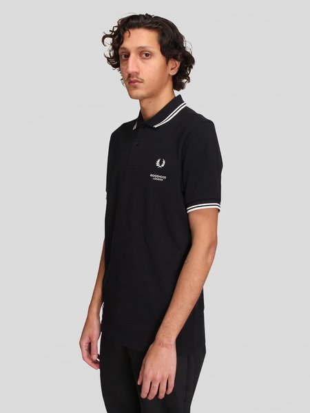 Goodhood x Fred Perry Printed SS Polo Shirt