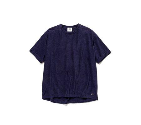 UNISEX Thing Fabrics Short Pile T-Shirt - Navy