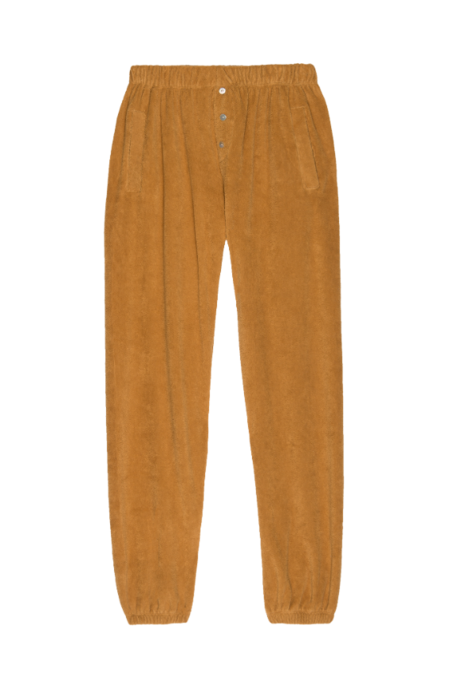 Donni. Terry Henley Sweatpant - Honey
