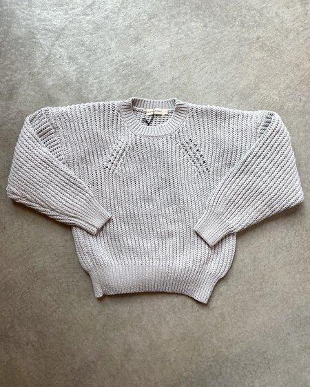 Micaela Greg Rei Cotton Pullover - Mineral