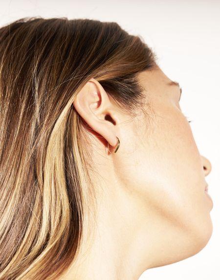 Odette New York Single Courbe Earring - 14k Yellow Gold