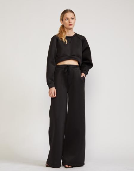 Cynthia Rowley Niall Bonded Pants - Black