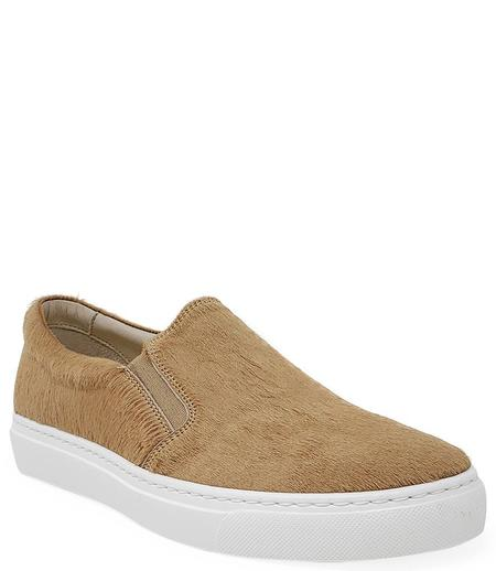 Madison Maison By Fashion Moda Pony Slip On Sneaker - Sand