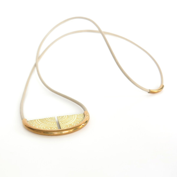 Claire Green Jewelry Sundial Necklace