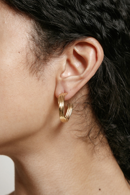 Wolf Circus Ariana Earrings - Gold