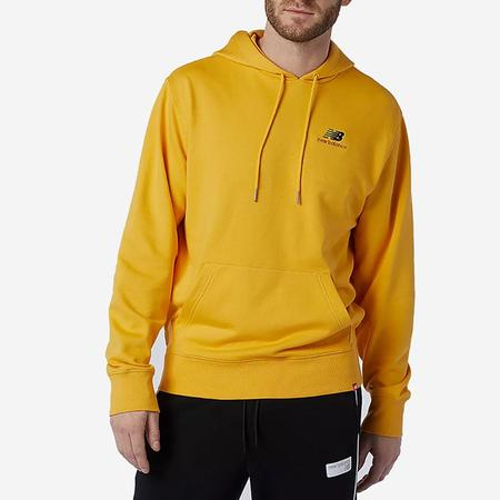 New Balance Essentials Embroidered Hoodie - Aspen Yellow
