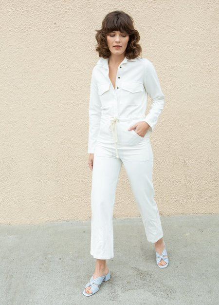 Rachel Pally Linen Canvas Dylan Jumpsuit - White