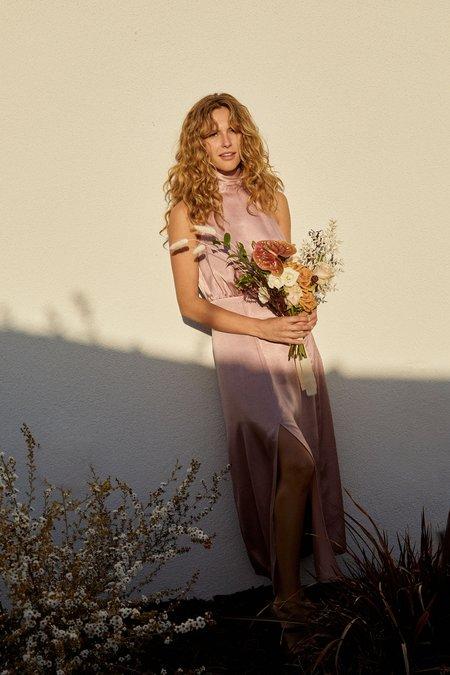 Whimsy + Row Ellis Dress - Blush