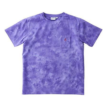 UNISEX Gramicci  Tie Dye One Point Tee - Tie Dye Purple