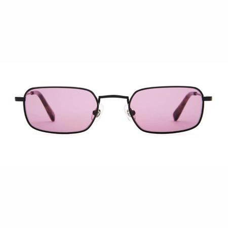 Crap Eyewear The Nu Bloom Sunglasses - Matte Black/Purple Haze