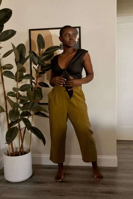 Whimsy + Row Rowen Pant - Olive