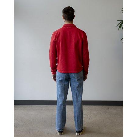 Knickerbocker Patch Pocket Denim Trouser - Blue