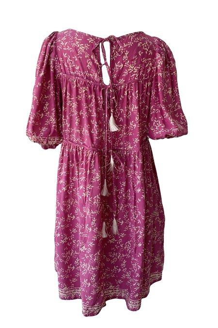 Natalie Martin Haley Short Dress - Bamboo Punch