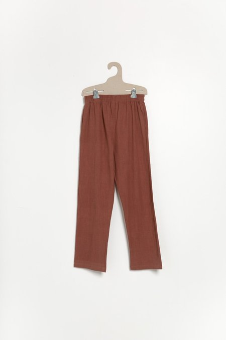 PO-EM Lounger Pants - Terracotta