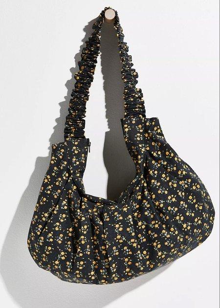 Find Me Now Kasi Floral Shoulder Bag - Black