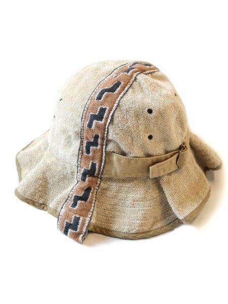 Kapital IRAGO Pile Radio Tulipe HAT - Brown