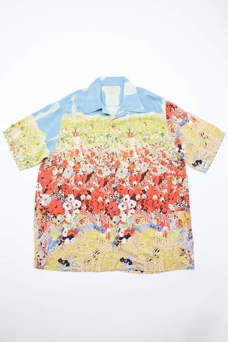 Kapital Rayon NAVAJO LAND Aloha Shirt - Trico