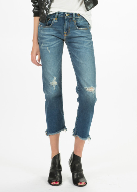 R13 Women's Straight Boy Jean