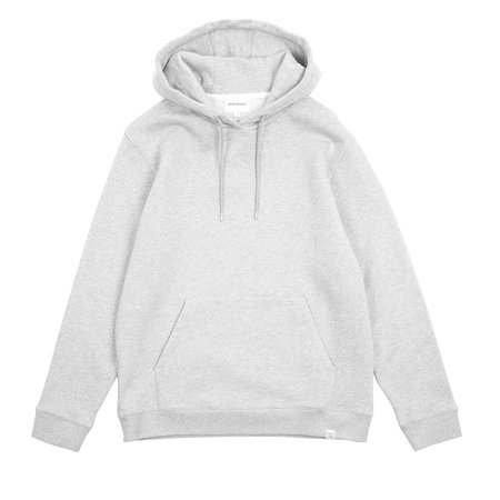 Norse Projects VAGN CLASSIC HOODIE - LIGHT GREY MELANGE