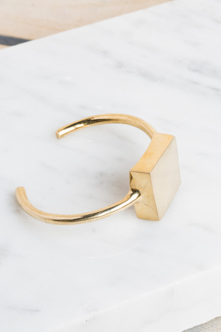 Quarry Andre Cuff in Brass