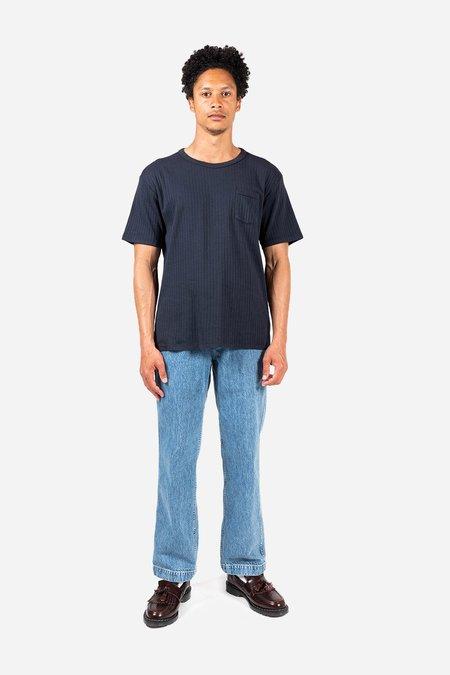 Knickerbocker The Ribbed Pocket T-Shirt - Navy