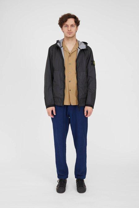 Stone Island  Membrana 3L-TC Garment Dyed Hooded Jacket - Black