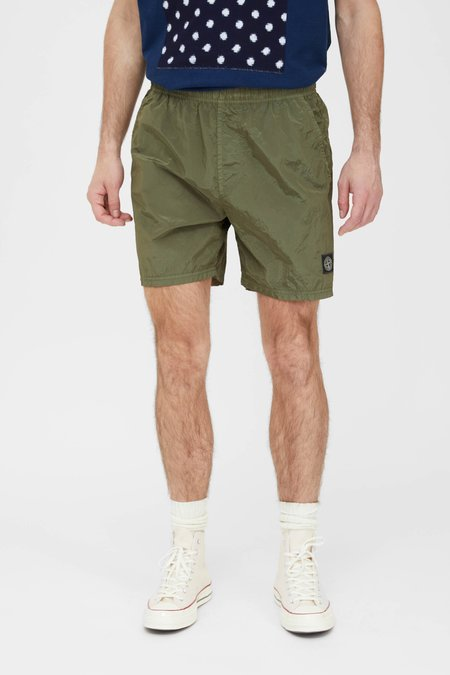 Stone Island Nylon Metal Swim Trunks - Olive