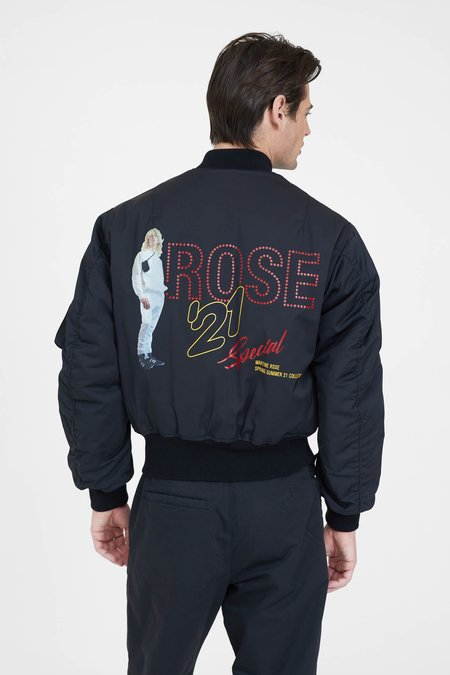 Martine Rose Classic Bomber Jacket - Black