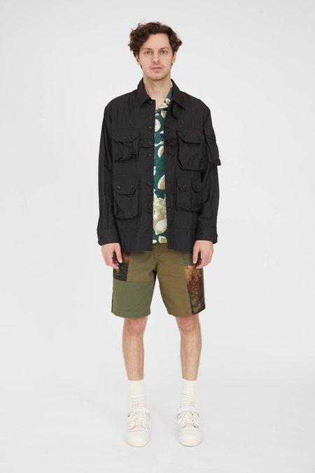 Engineered Garments Explorer Nylon Micro Ripstop Shirt Jacket - Black