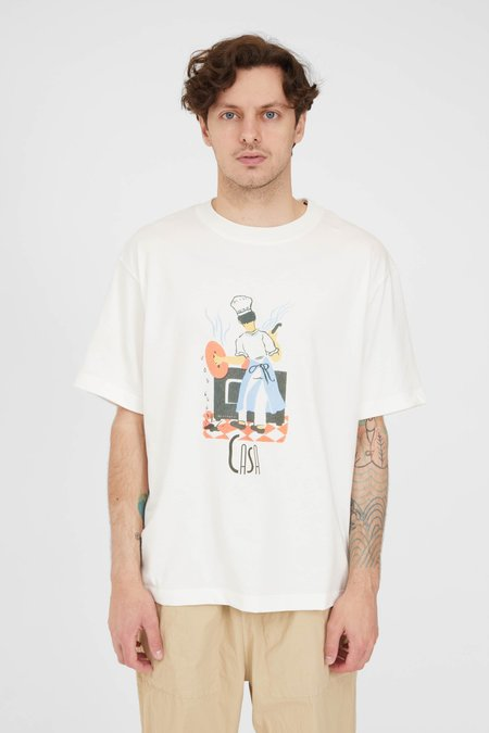 PRESIDENTS Organic Jersey Casa T Shirt - White