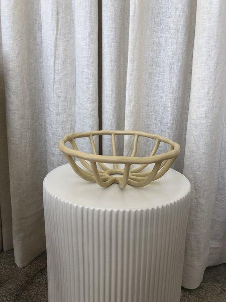 Ri-Ri-Ku OPEN DESIGN FRUIT BOWL - Cream