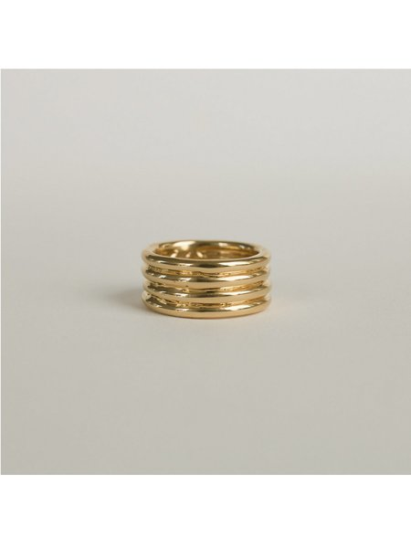 Merewif Sway Ring - Gold