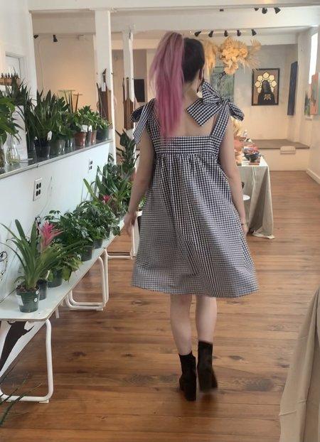 m e ç l â The Beau Dress - Gingham