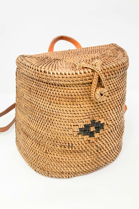 Joia Rattan Backpack - Nat
