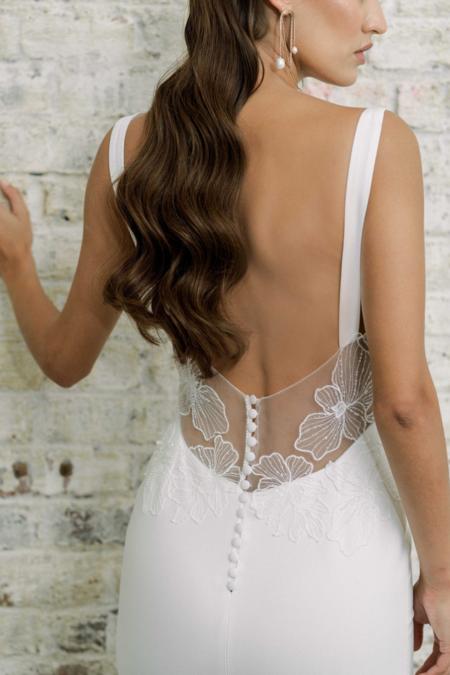 Rime Arodaky sample Alba Gown dress - white