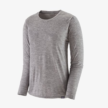 Patagonia Long-Sleeved Capilene® Cool Daily Shirt - Feather Grey