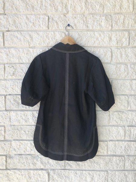 Lee Mathews Sidney Coocoon Sleeve Shirt