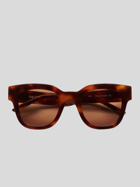 Sun Buddies Liv Sunglasses - Tortoise