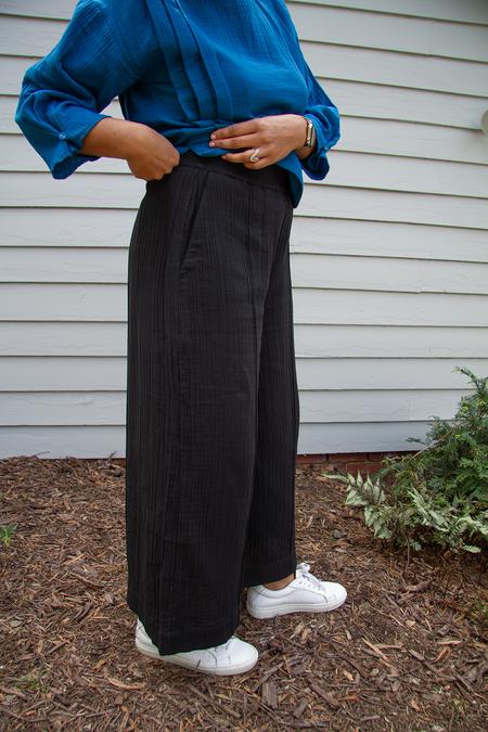 Bhoomki Panel Pants - Black