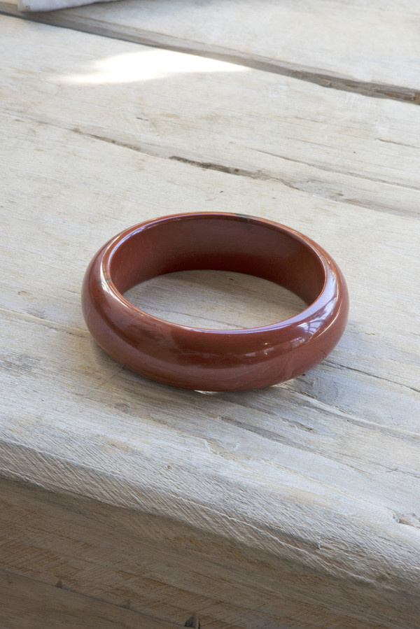 Kathleen Whitaker Jasper Rock Bangle