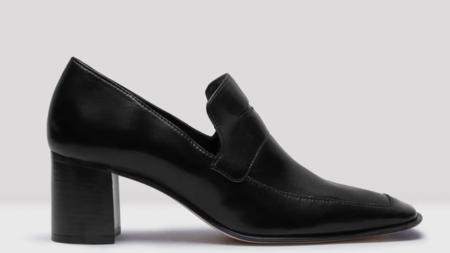 Miista Daya Leather Loafer - Black
