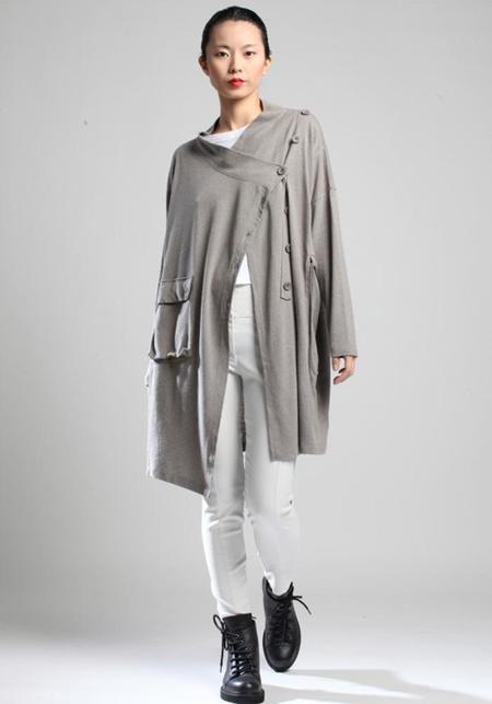 Lurdes Bergada Recycled Fibers Lightweight Long Cardigan