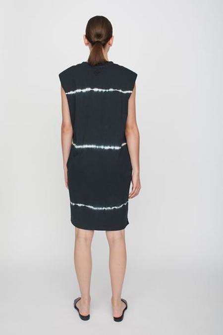 Just Female Beijing Tie Dye Dress - Black