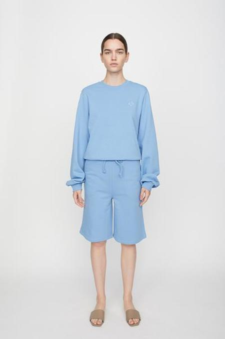 Just Female Henderson Crewneck sweater - Silver Lake Blue